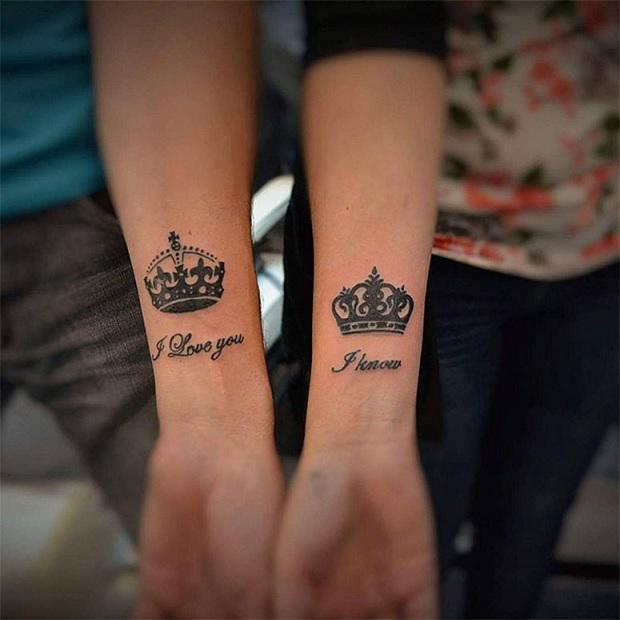 Tatuagem de Casal - Modelos  Eternizando o Amor na Pele