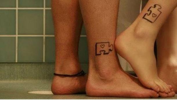Tatuagem de Casal  Modelos  Eternizando o