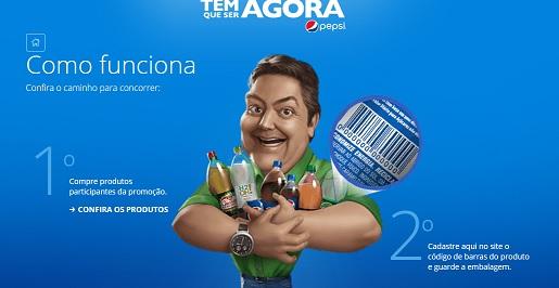Tem Que Ser Agora Promoção Pepsi 2016