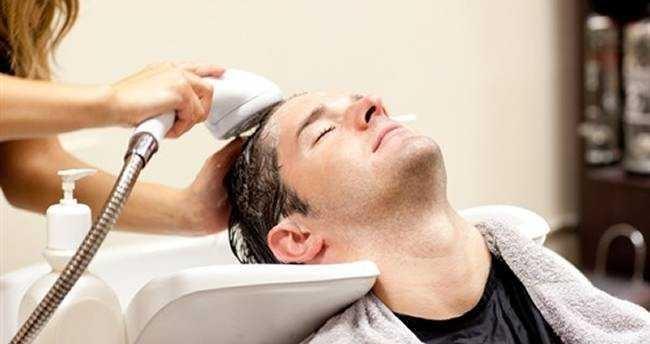 Topete Masculino lavar