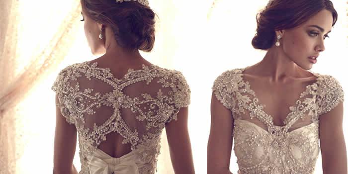 Vestido de Noiva Com Pedrarias - Dicas  Modelos
