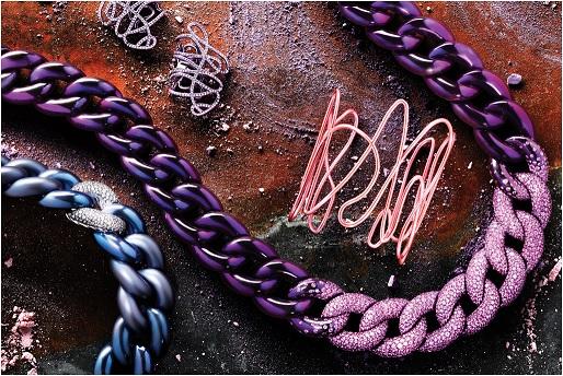joias coloridas - tendência