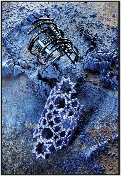 joias coloridas tendência aneis