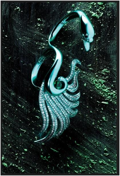 joias coloridas tendência anel