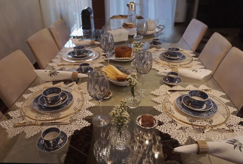 Chá da Tarde Com Amigas - Como decorar