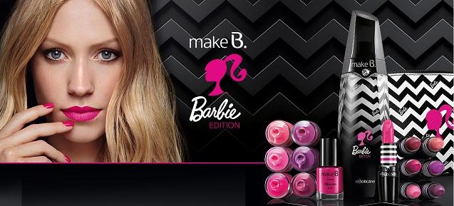Coleção Make.B Barbie Boticario - Lançamento