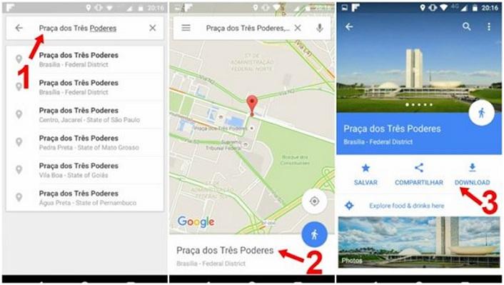 Google Maps Sem Internet – Como Usar