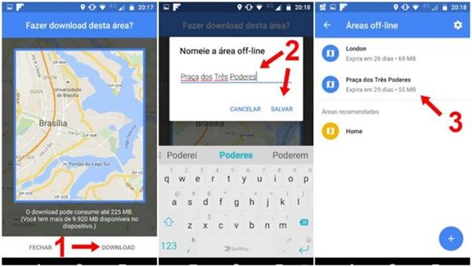 Google Maps Sem Internet Como Usar