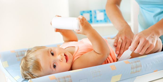 Higiene Intima Em Bebê - fralda