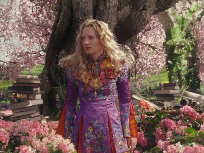 Looks Inspirado Filme Alice Através do Espelho