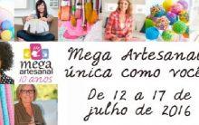 Mega Feira Artesanal – Programação 2016
