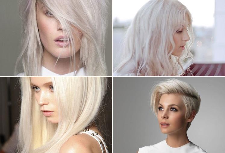 Platinados Ice Blond Tendência Cabelos 2016 - Como Fazer