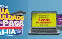 Sua Faculdade a Gente Paga Casas Bahia Promoção – Como Participar