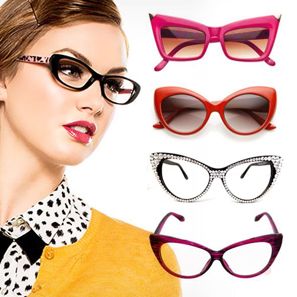 50e7e13ff7f72 Óculos Estilo Gatinho - Modelos e Dicas