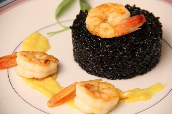 Arroz Negro – Benefícios camarão