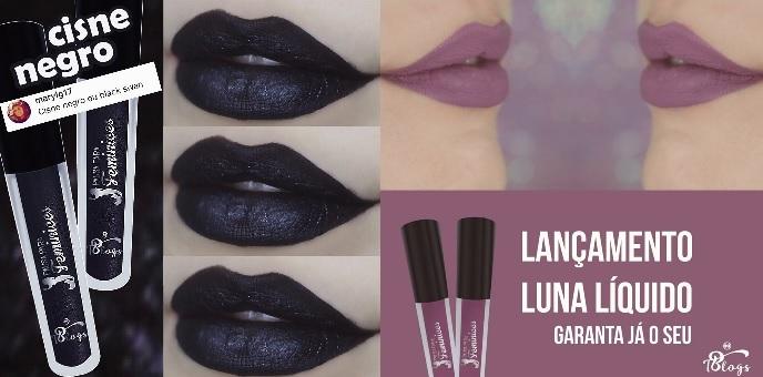 Batom Luna e Cisne Negro – Lançamento e Vídeo