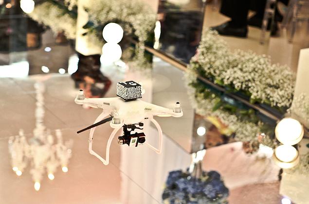 Casamento High Tech – Dicas drone