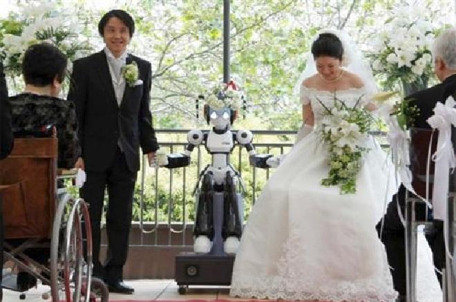 Casamento High Tech – Dicas robo