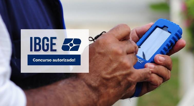 Concurso Censo IBGE 2016 - Vaga