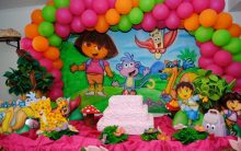 Festa Infantil Dora Aventureira – Como Decorar