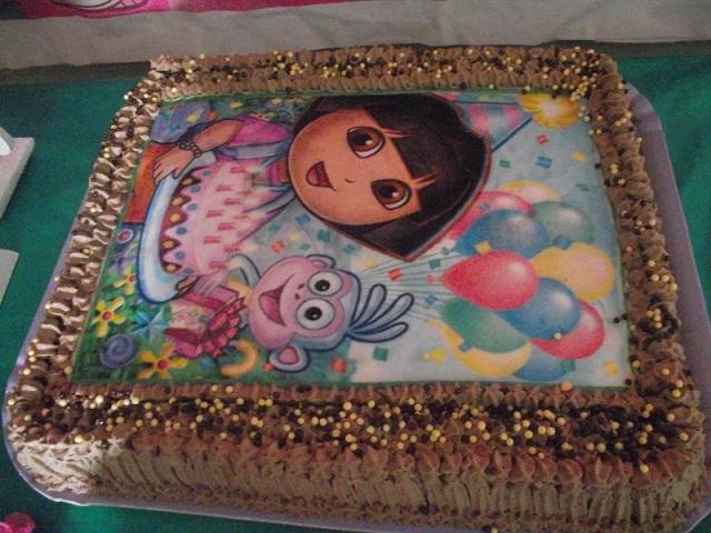 Festa Infantil Dora Aventureira - boloss