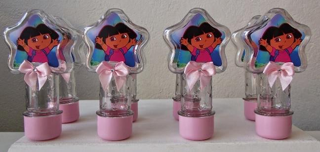 Festa Infantil Dora Aventureira lembranças