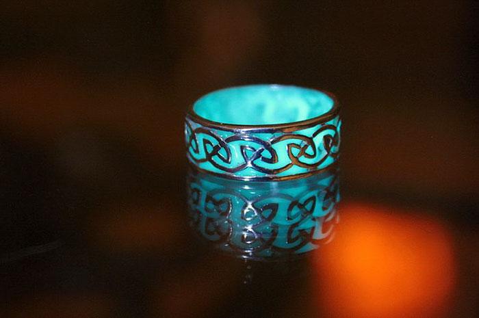 Joias Que Brilham no Escuro – anel