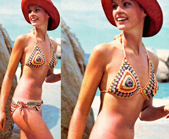 Moda Praia 2017 croche