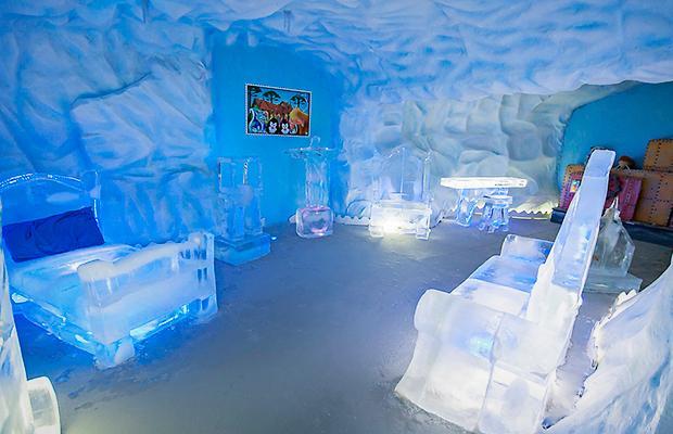 Parque Mundo Gelado – Uma Caverna de