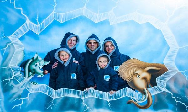 Parque Mundo Gelado – Uma Caverna de Gelo