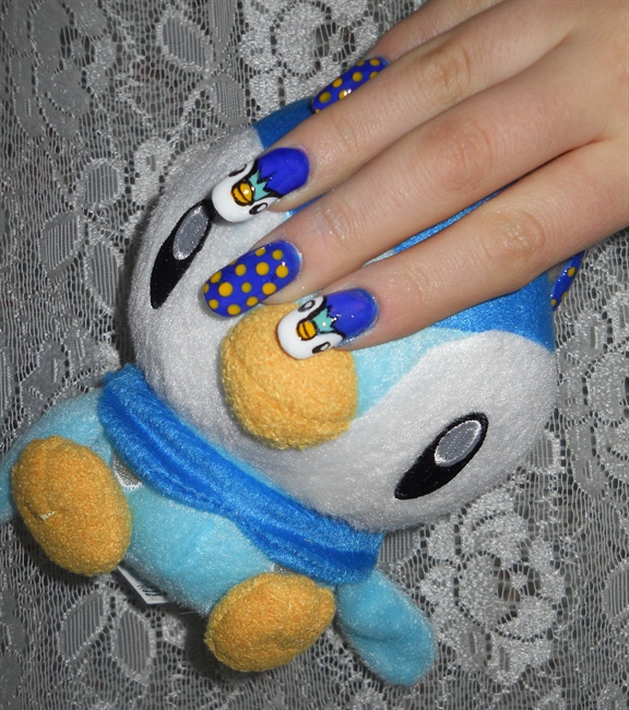 Pokemon  Unhas Decoradas – Modeloazul