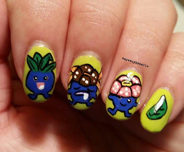 Pokemon  Unhas Decoradas – Modelonail