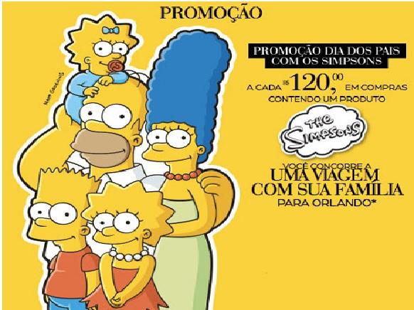 Promoção Dia dos Pais Com os Simpsons Riachuelo – Como Participar
