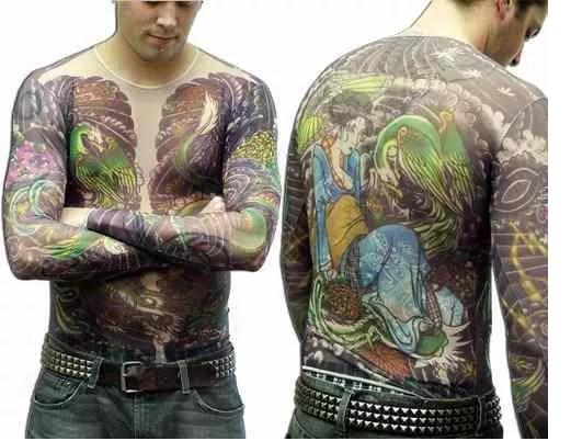 Roupas Tattoo Para Adultos Crianças