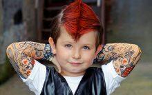 Roupas Tattoo Para Adultos e Crianças – Lançamento