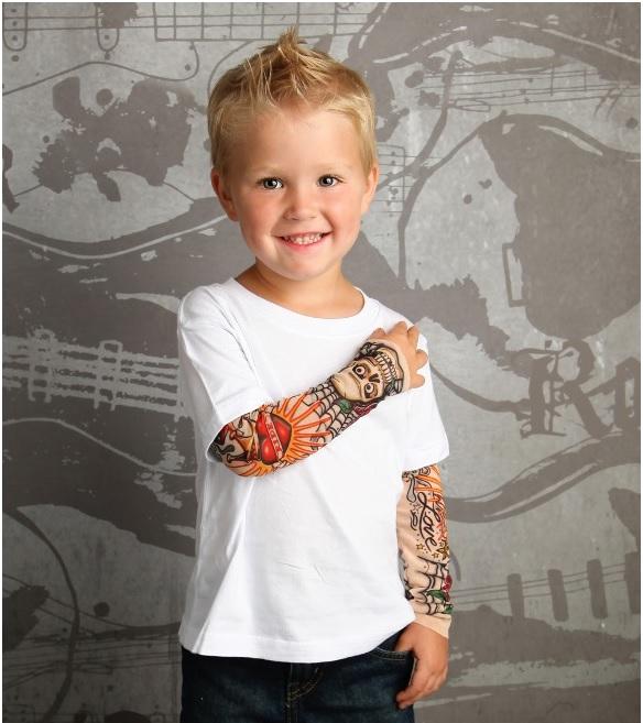 Roupas Tattoo Para Crianças - Lançamento
