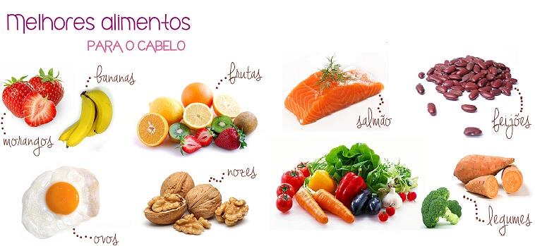 Saúde Couro Cabeludo alimentos