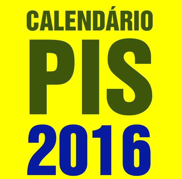 Tabela PIS 2016 -