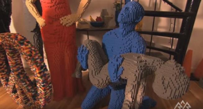 A Arte de Criar Com Lego Exposição 2016 -