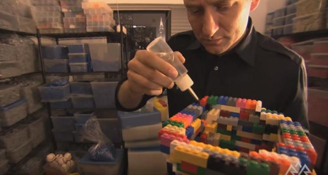 A Arte de Criar Com Lego Exposição