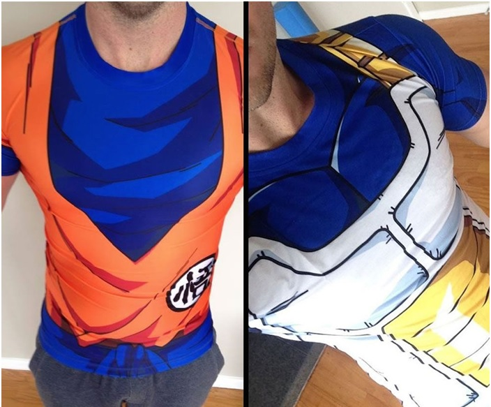 Camisetas 3D Dragon Ball –  Modelo
