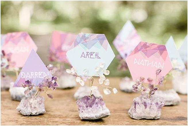 Casamento Com Minerais Nova Decoração nomes