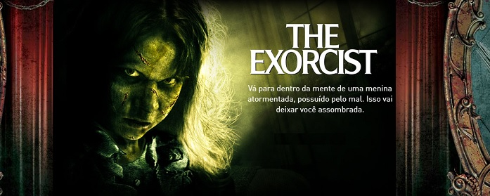 Halloween Horror Nights Orlando - Atrações exorcista