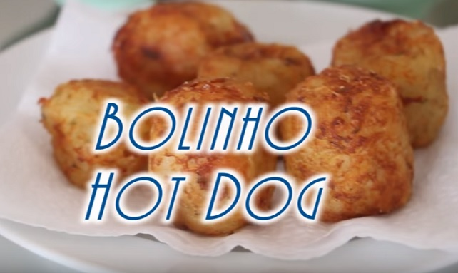 Mine Bolinho de Hot Dog - Receita Fácil