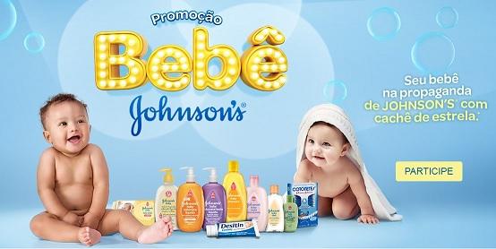 Promoção Bebê Johnson's 2016 Seu Bebê na Propaganda – Como Participar