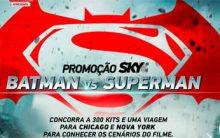 Promoção Sky Batman vs Superman – Como Participar e Prêmios