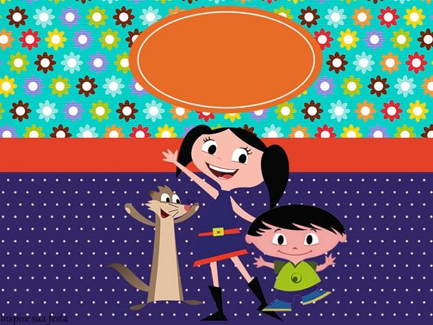 Show da Luna Tema Para Festa Infantil  convite