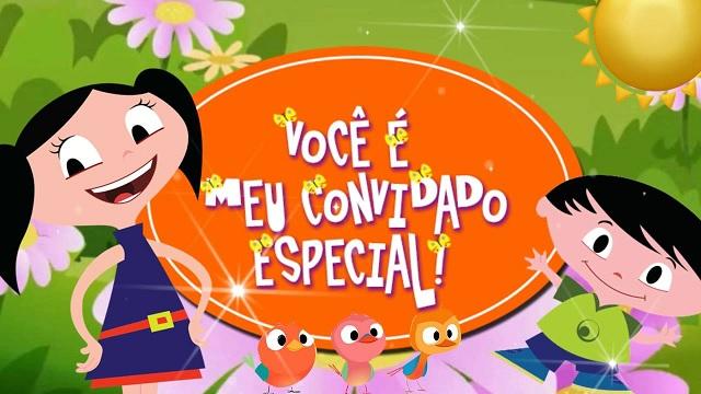 Show da Luna Tema Para Festa Infantil  convites