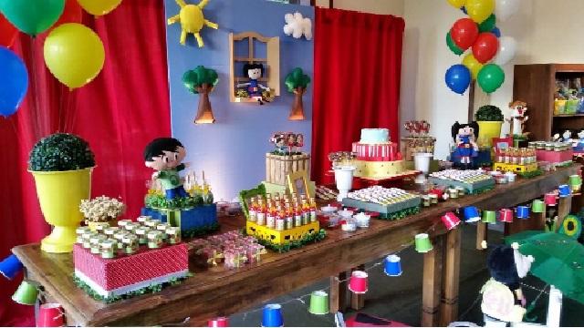 Show da Luna Tema Para Festa Infantil decoração