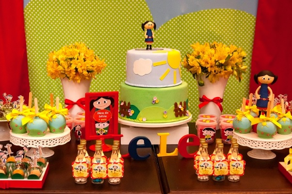 Show da Luna Tema Para Festa Infantil decora